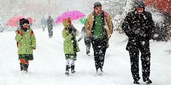 Hangi il ve ilçelerde okullara kar tatili verildi?
