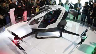 Çinliler helikopter gibi Drone yaptı: Ehang 184