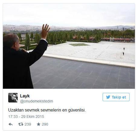 Cumhurbaşkanı Erdoğan'ın halkı selamlaması yorumları